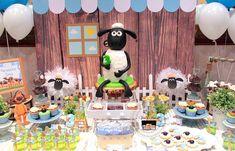 Little Wish Parties | Shaun The Sheep Party | https://littlewishparties.com