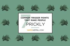 We all have our trigger points. Being aware of them can help us guard against automatically shooting those quills at our family members or team at work. And being able to see them in others can help us deal more graciously with those prickly porcupines. So let's look at seven common trigger points. #relationships #triggerpoints Relationship Building, Bible Activities, Activities For Kids, Feed Your Soul, Trigger Points, Good Wife, Baby Girl Birthday, Family Life, My Family