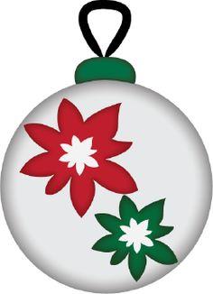Ornament Poinsettias cut file