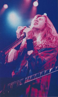 "diamondog66: ""Dave Mustaine (Feb/1999/Burrn!) """