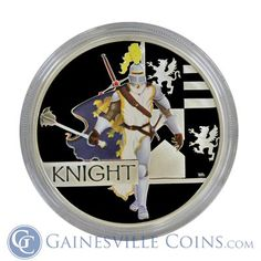 Purchase 2010 Great Warrior Series Knight 1 oz Silver Proof Coin From Gainesville Coins. Securely Purchase Perth Mint Gold And Silver Coins Online.