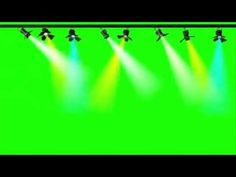 Show de Luzes - Light Show [Fundo Verde - Chroma Key] - YouTube