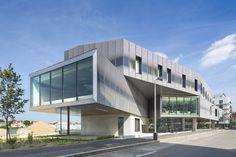 Media Library Choisy-Le-Roi / Atelier d'Architecture Brenac-Gonzalez