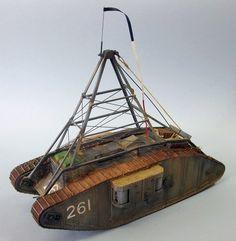 TRACK-LINK / Gallery / Mk.IV 'Female Airship' Tug
