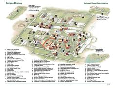 Campus Maps & Directions+