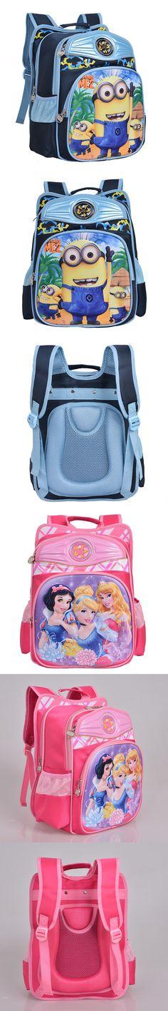New 3D Cartoon Minions Kids School Backpack Bag Child Backpacks for Girls Boys Cool Schoolbag Children Mochila Escolar Infantil