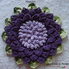ANDY Y LO QUE MAS ME GUSTA: PASO A PASO DE FLOR Step by step photos show how to make this beautiful Alligator Stitch flower motif (crocodile stitch))