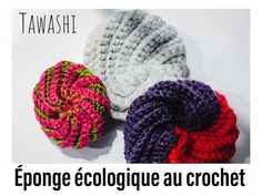 Tawashi sponge crochet tutorial / quick and easy to make - knitting and crochet Crochet Gifts, Knit Crochet, Crochet Christmas Hats, Knitting Patterns, Crochet Patterns, Free Pattern, Diy Crafts, How To Make, Blog