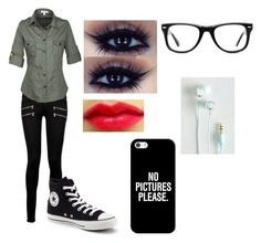 Untitled #33 by ms-illusi0n on Polyvore featuring Paige Denim, Converse, Muse and Casetify