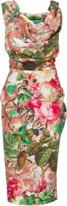 Vivienne Westwood Multicolour Ginnie Pencil Dress