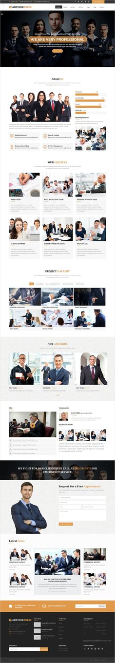 AdvisorPress is beautifully design 3 in 1 #Bootstrap #theme for consultancy, #finance, legal and law related businesses website download now➩ https://themeforest.net/item/advisorpress-consultancy-finance-and-law-business-html5-template/17274092?ref=Datasata