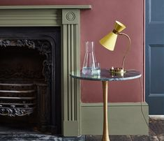 This deep green paint colour was a popular Victorian paint colour, still enjoyed today. Browse our full range of heritage colours and green paint today. Green Paint Colors, Wall Colors, Interior Walls, Interior And Exterior, British Paints, Masonry Paint, Traditional Paint, Lower Lights, Painted Floors