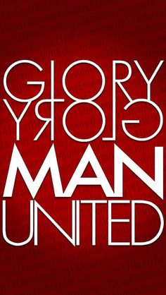 GLORY GROLY MAN UNITED by tomoakin, via Flickr