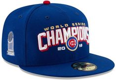 d5b46b2ddcf New Era Chicago Cubs World Series Trophy 59FIFTY Cap - Blue 7 5 8 ...