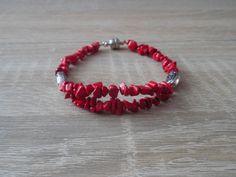 náramek, nylonové lanko - beads bracelet