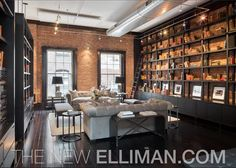 TriBeCa | Knight Frank  Library for when I go Emerald. Somewhat small & needs remodeling in some areas.