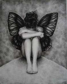 ▪●▪Sad Butterfly Girl by Zindy▪●▪