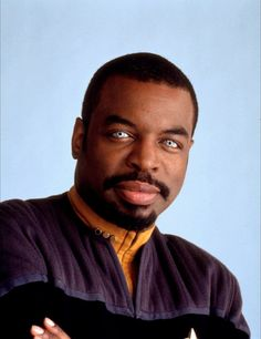 Commander Geordi La Forge, chief engineer of the USS Enterprise