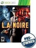 L.A. Noire — PRE-Owned - Xbox 360, PRE-OWNED GAME