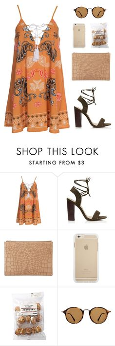 """""""Imma acting like I need you"""" by erika-cizmar ❤ liked on Polyvore featuring Kiss The Sky, Forever New, Whistles, Ray-Ban and summer2016"""