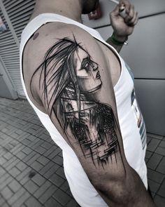 Done at @tattoo_konwent #wowtattoo #blacktattoomag #blacktattooart #inkstinctsubmission #equilattera #black #tattoo #btattooing #darkartists #blackworkerssubmission #blackwork #blackworkers #tattoo #tattrx #thebesttattooartists #tattooistartmagazine