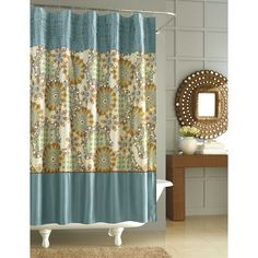 Nicole miller home decor shower curtain