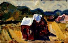 Paintings - Mountford Tosswill (Toss) Woollaston - Page 3 - Australian Art Auction Records Australian Art, Art Auction, Tossed, Banks, Artist, Painting, Artists, Painting Art, Paintings