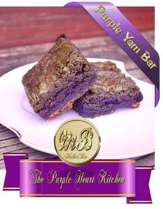 Filipino Brownies (Purple Yam Bar) :http://www.motherbeesadventures ...