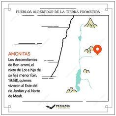 Pueblos alrededor de la tierra prometida: Los amonitas.