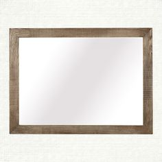 """Palmer Mirror In Ashland Natural   Arhaus Furniture  48""""W X 1.5""""D X 36""""H SALE $399.00 Solid oak combines with clean, modern lines to create our Palmer Bedroom collection. Our designers fashioned this collection with elements of the Bauhaus era in mind, where minimalist form underlines everyday function. Handmade by Indonesian artisans out of solid oak that is grown and harvested in the United States. this collection brings artistry and unique character to hand-planed, hand-sanded wood."""