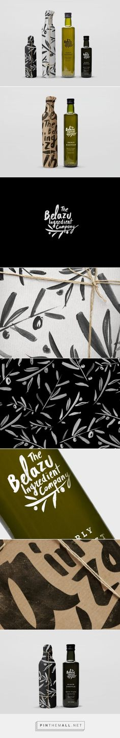 Don't Try Studio - Belazu Olive Oil curated by Packaging Diva PD. Nice packaging and graphics don't you think?:
