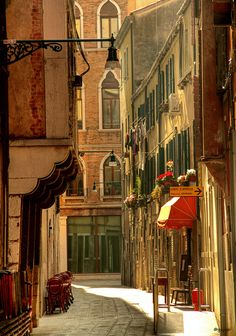 Side Street, Venice, Italy