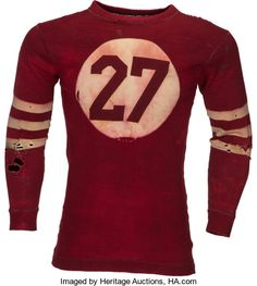Circa 1920's Football Jersey.