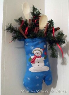 Definitely will do this next year. This would make an adorable Christmas decoration for the kitchen.