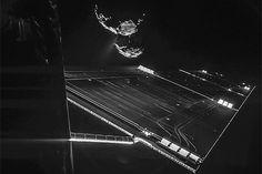 sonda 'Philae' desde la superficie del cometa #viendoarquitecturas