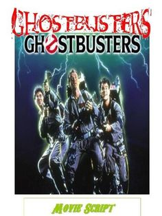 Classic Comedy GHOSTBUSTERS Movie Script , http://www.amazon.com/dp/B008C36IR6/ref=cm_sw_r_pi_dp_R7o3pb1PAV1FE