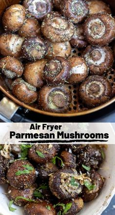 This Air Fryer Parmesan Mushrooms Recipe is a super quick and easy side dish or. , This Air Fryer Parmesan Mushrooms Recipe is a super quick and easy side dish or. This Air Fryer Parmesan Mushrooms Recipe is a super quick and easy . New Air Fryer Recipes, Air Frier Recipes, Air Fryer Dinner Recipes, Air Fryer Recipes Vegetables, Veggies, Air Fryer Rotisserie Recipes, Air Fried Vegetable Recipes, Air Fryer Recipes Appetizers, Air Fryer Recipes Vegetarian