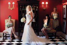 Bridal photography at The Carolina Inn