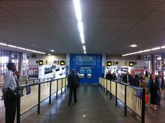 Secret cash machine: Euston Station