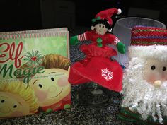 Keeping the Elf busy teaching chores , love and playing around safely! #elfmagic #elfcapades