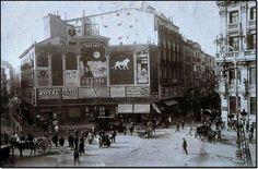 Plaza de Canalejas. Madrid, 1912.