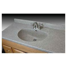For Main X 22 Riverstone Quartz Vanity Top At Menards Ideas For My Downstairs