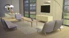 Chairs, Sofa, Armchair, Console at Meinkatz Creations via Sims 4 Updates