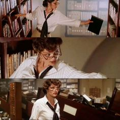 Evelyn: Look I may not be an explorer or an adventurer or a treasure-seeker or a gunfighter Mr. Rick: And what is that? Evelyn: I.am a librarian! [The Mummy]