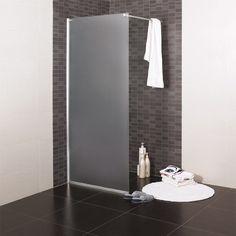 NORO FROST CONCEPT är en flexibel, stilren och modern duschlösning bestående av en fast vägg i frostat glas tillsammans med en dörr i klarglas för monteri
