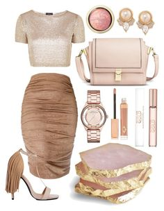 """""""Без названия #260"""" by ronny22 ❤ liked on Polyvore featuring Marc by Marc Jacobs, Carolee, Privileged by J.C. Dossier, Michael Kors, Topshop, Charlotte Tilbury, Max Factor and Mossimo"""