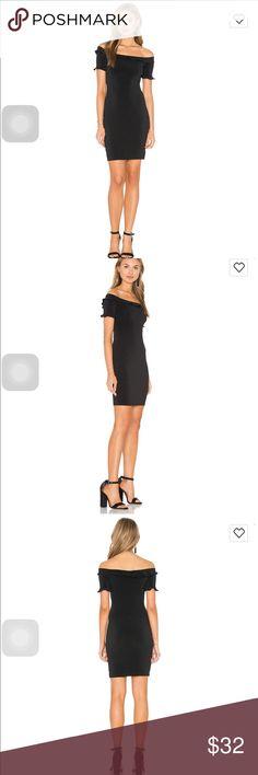 Motel soria dress in black Never used brand new soria dress in black currently on sale at revolve for $41 Motel Dresses Mini