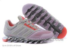 www.womenpumashoe... ADIDAS WOMEN'S RUNNING SHOES SPRINGBLADE DRIVE 4 GREY VIOLET FREE SHIPPING Only $67.00 , Free Shipping!