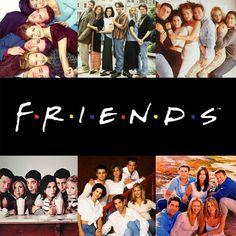 A Friends collage ♥ #ross #rachel #chandler #mondler #monica #love #phoebe #joey #howyoudoin