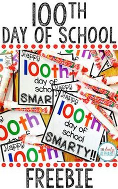 100th Day of School!!!!! - The Daily Alphabet